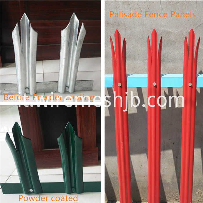 Green Palisade Fencing