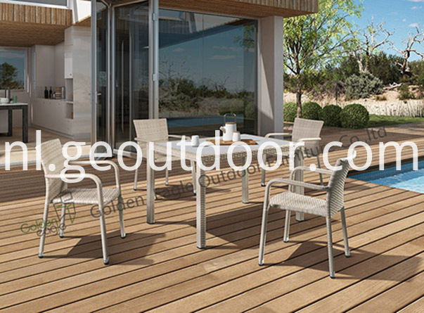 Wonderful Wicker Patio Dining Set