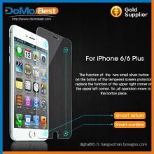 Usine en vrac grossiste prix smart en verre trempé pour iphone plus de 6G