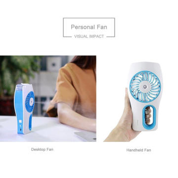 Personal Cooling Mini Fan Radio Rotating Sound Machine