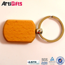 Artigifts company Porte-clés en bois rectangulaire professionnel