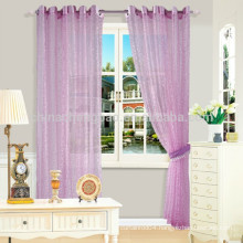 Home decorator jacquard sheer fabric rice paper curtains