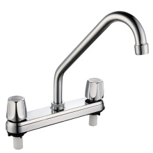 ABS Basin Mixer with Chrome Finished (JY-1029)