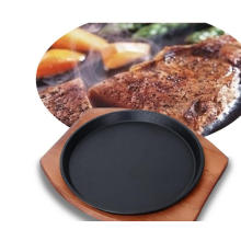 Round Cast Iron Old Style Griddle