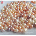 8-9mm Mixed Color Rice / Oval Freshwater Loose Pearls