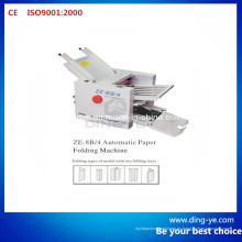 Máquina plegadora de papel automática