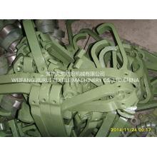 Principalmente peças de maquinaria têxtil