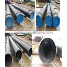 api 5l gr.b linha de tubos de carbono sem costura sch40