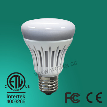6.5W/8.5W 85V-265V High Brightness Plastic Coated E26 LED Bulb Light