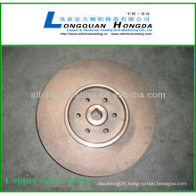 bronze foundry brass die casting parts