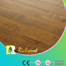 Commercial 8.3mm E1 HDF AC4 Embossed Elm V-Grooved Laminate Floor