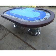 Новый стол для покера из массива дерева (новая модель-PT98)