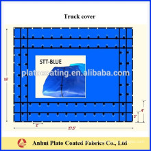 PVC Polyester fabric for steel tarp