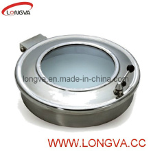 Stainless Steel Sanitary Manway with Sight Glass