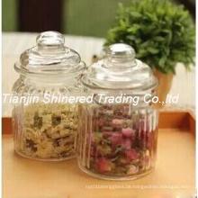 Küche Glaswaren Lagerung Flasche Glas Jar