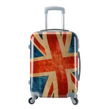 Le meilleur bagage à main sur les bagages PC + ABS Le côté gris