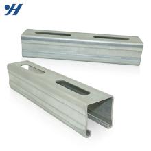 Precio de la barra de acero ranurada eléctrica unistrut L de doble extremo fría de alta calidad