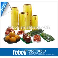 PVC food wrap film, food grade cling film, food cling film