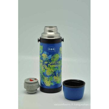 Haute qualité 18/8 acier inoxydable double paroi flacon Svf-1000e