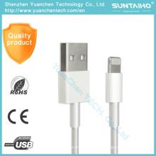 Cable de alta calidad de 8pin Data Sync USB Cords para iPhone