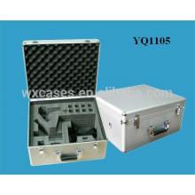 alumínio caso de forte instrumento com espuma personalizado inserir fabricante