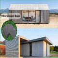 Tablero exterior de fibra de panel de pared de fachada superior