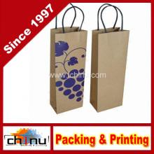 Вино Бумажная сумка (2323)