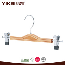 Laminated wooden skirt hanger