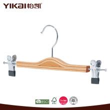 Gancho de saia de madeira laminado