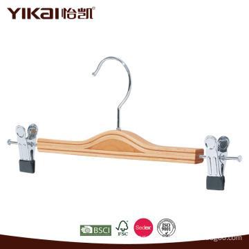 Laminated wooden skirt hanger
