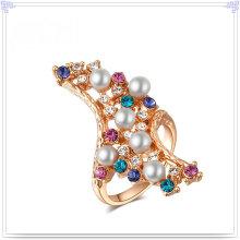 Moda jóias de cristal anel de liga de jóias (al0004g)
