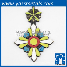 custom fashion design logo cheap metal pendant