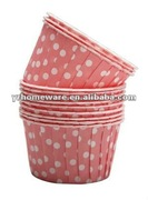 Polka dot paper baking cup/ cake baking supplies