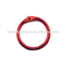 Großer Verkaufs-Schmucksache-guter Qualitäts-Metall farbiger Mappen-Ring