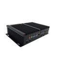 Double PC NIC Dual HDMI 6 COM USB industriel Fanless Mini PC Frame