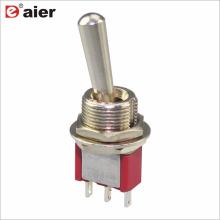 MTS-102/103-L1 SPDT 3P Interrupteur à bascule miniature