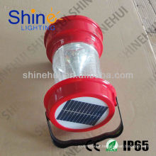 Plastic ABS/Transparent PC Fashion led lantern camping solar lantern camping