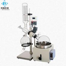 China  mini rotary evaporator Rotovap water bath with lab vacuum glassware distillation apparatus