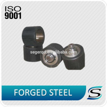 Pellet personalizado Presione los rollos de acero del carbón del molino Rollos de acero del rodillo