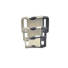 Nueva hebilla del metal de la hebilla del lanzamiento del lado del estilo y la hebilla del metal para el morral, pulsera, mnufacturer del collar de perro