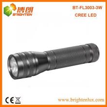 China Factory Supply RoHs Q3 / Q5 3WATT Cree a conduit la plus petite lampe de poche la plus brillante
