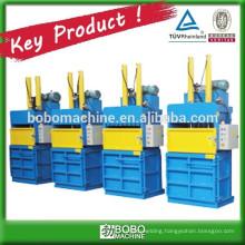 hydraulic vertical plastic film compactor