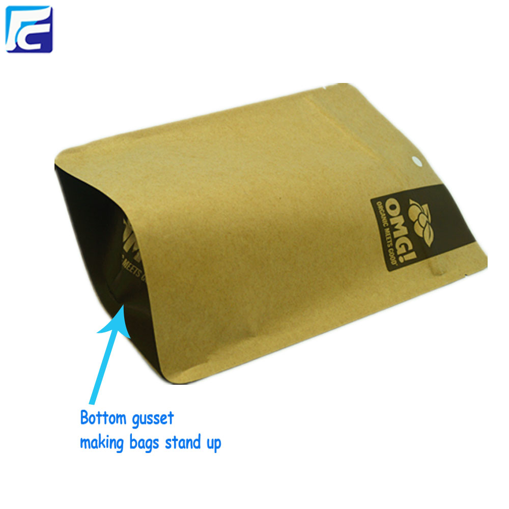 Customized Design Stand Up paper pouches