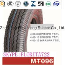 Piezas de motos neumáticos neumáticos de la motocicleta (4.00-8)