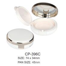 Round Plastic Compact Case Cp-396c