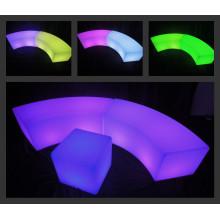 Decoración Taburetes LED a prueba de agua para la barra / KTV Party / Muebles de taburete de barra iluminado (G003)
