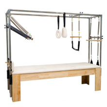2021Pilates Training Bed Yoga Fitness Equipment elevated flat bed Cadillac Home Gym  Reformer for body building