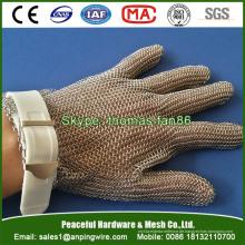 Edelstahl Mesh Handschuh für Metzger Bekleidung Oyster Verarbeitung