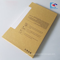 custom logo printed glass screen protector packaging box