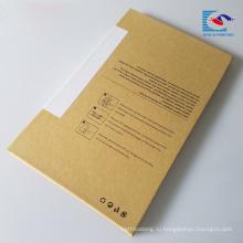 высокое качество крафт-бумаги коробка телефон закаленное стекло протектор экрана